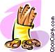pretzels Vector Clip Art picture