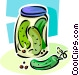 pickles Vector Clip Art image