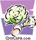 cauliflower Vector Clip Art image