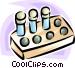 test tubes Vector Clip Art image