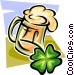 St. Patrick's Day celebrations Vector Clipart graphic