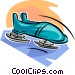 bobsled Vector Clip Art graphic
