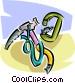 mountain climbing equipment Vector Clip Art image