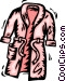Bathrobes Vector Clip Art picture