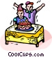 Birthday party Vector Clipart picture