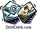 postcard Vector Clipart illustration