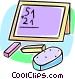 school blackboard Vector Clipart picture