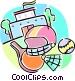 school sports Vector Clip Art picture