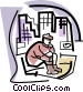 homeless Vector Clipart picture