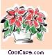 poinsettia Vector Clip Art image