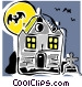 haunted house Vector Clipart picture