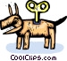 wind up toy Vector Clip Art picture