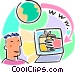 on-line shopping Vector Clipart image