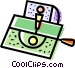 Arcade Games Vector Clip Art graphic