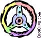 Steering wheel Vector Clip Art picture
