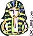 Tutankhamen Vector Clip Art image