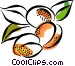 Plums Vector Clip Art image