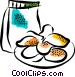 Potato Chips Crisps Vector Clipart image