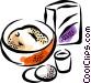 Ingredients Vector Clip Art graphic