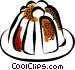 Christmas Puddings Vector Clip Art graphic