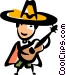 Spanish Vector Clip Art graphic