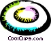 Frisbee Vector Clipart graphic