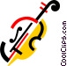 Cellos Vector Clipart picture