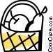 Food Baskets Vector Clip Art graphic