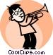 Trombones Vector Clip Art picture