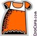 Baby Clothes Vector Clip Art image