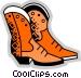 Cowboy Boots Vector Clip Art picture