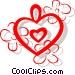 Hearts Vector Clip Art picture