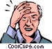 Senior Citizens Vector Clip Art image
