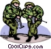Marines Vector Clipart picture