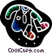 Baby clothes and socks Vector Clip Art picture