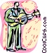 Acoustic Vector Clipart picture
