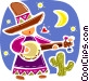 Spanish Vector Clipart picture