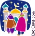 Priests and Ministers Vector Clipart graphic