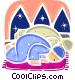 Parishioners Vector Clip Art image
