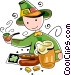 St. Patrick's day celebrations Vector Clip Art graphic