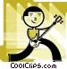 Amateurs Vector Clipart graphic