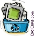 Obsolete Equipment Vector Clipart image