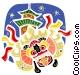 China Vector Clip Art image