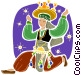 Ethnic Dance Vector Clipart picture