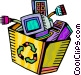 Obsolete Equipment Vector Clipart picture