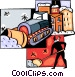 Snow removal equipment Vector Clipart graphic
