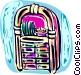 Jukeboxes Vector Clip Art image