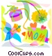 Mother's Day Vector Clipart image