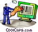 Bar Codes Vector Clip Art graphic