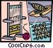 Loom Vector Clip Art graphic